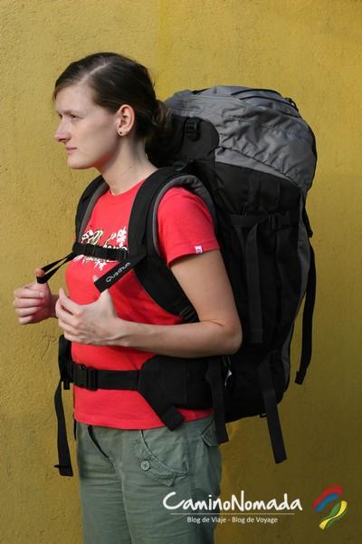 Avec de bons réglages, même un sac assez lourd ne devrait pas vous causer d'inconfort ou de douleurs aux épaules ou dans le dos.