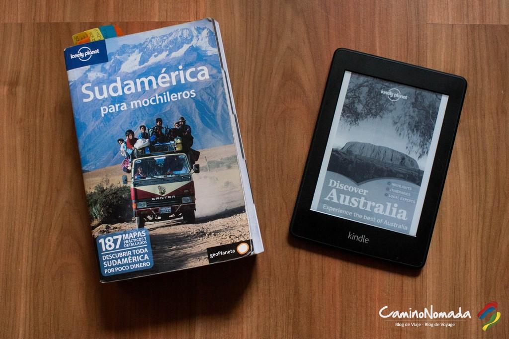 ¿Guía de papel o lector de libros electrónicos?