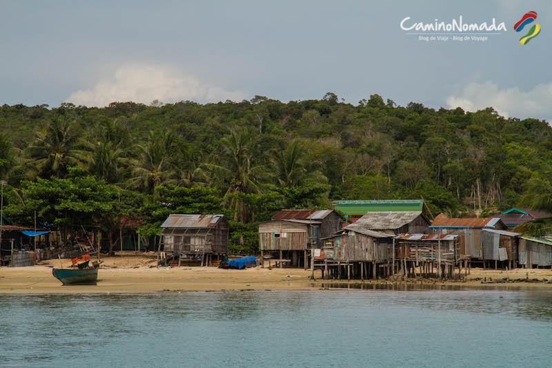 Koh Rong Samloem M'Pai Bei village