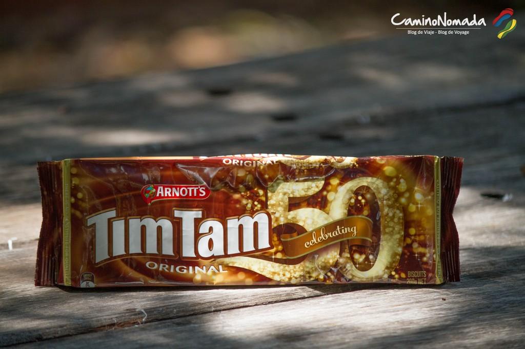 TimTam biscuits
