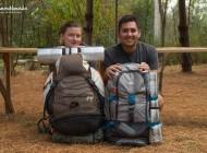 ¿De cuántos litros debe ser mi mochila de viaje?