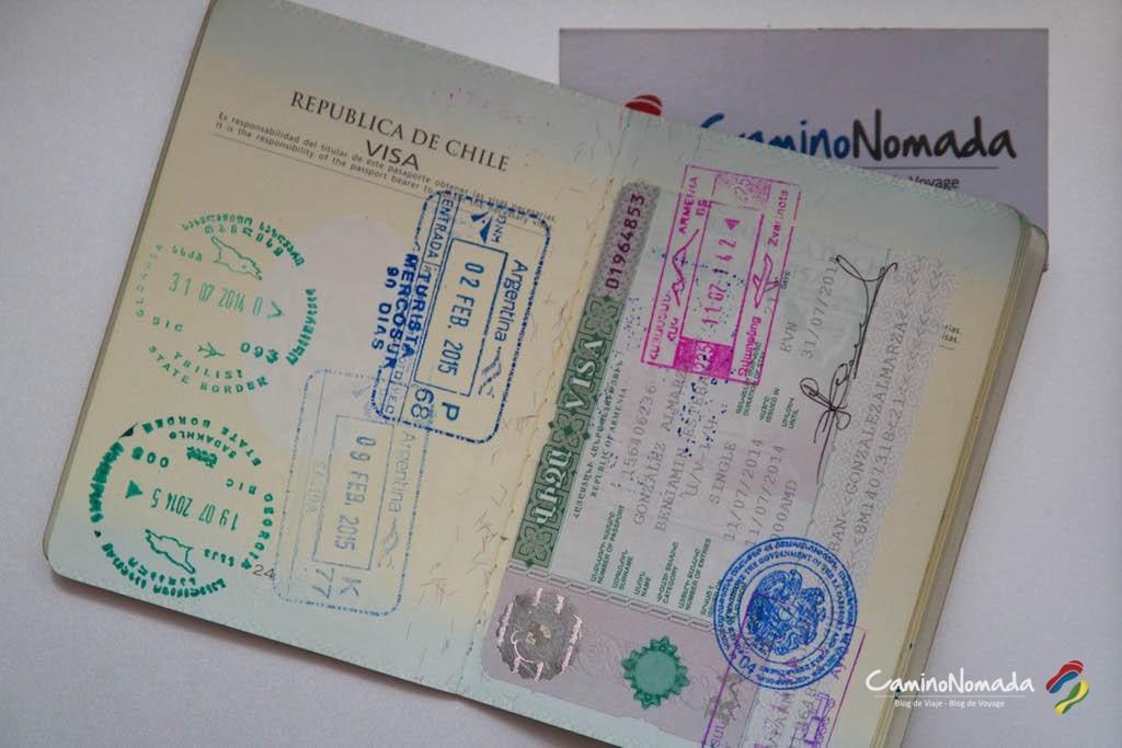 Al final necesitaba una visa para entrar a Armenia