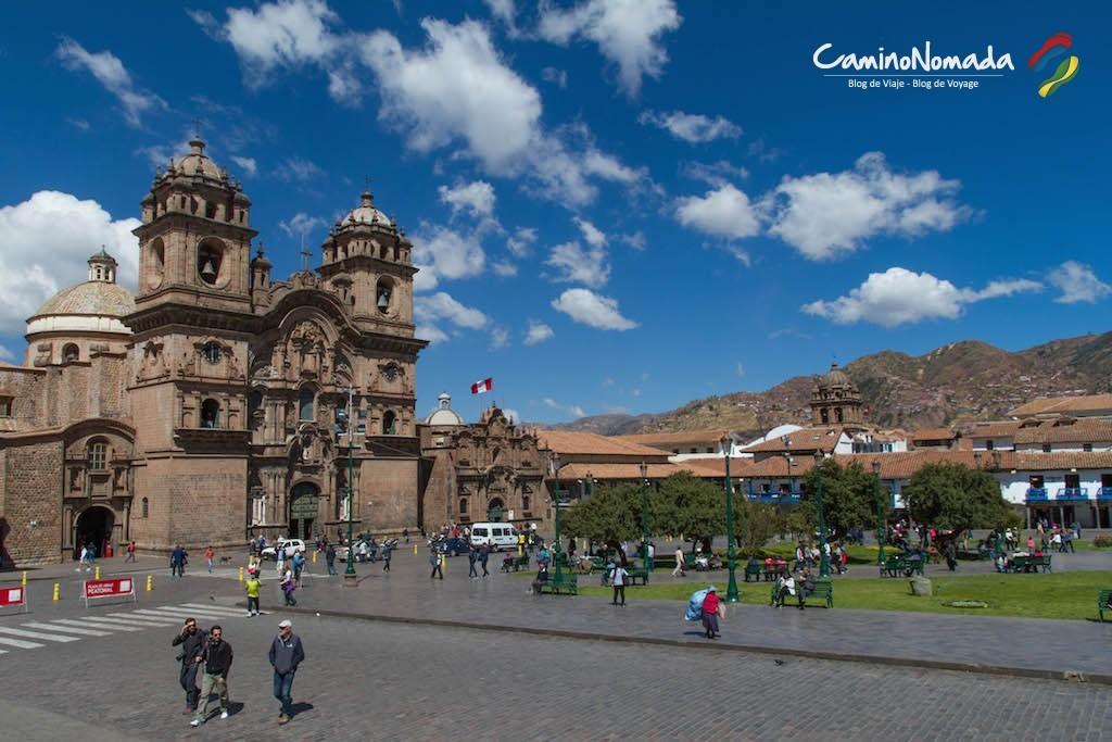 La Plaza de armas de Cuzco, au cœur du centre historique.