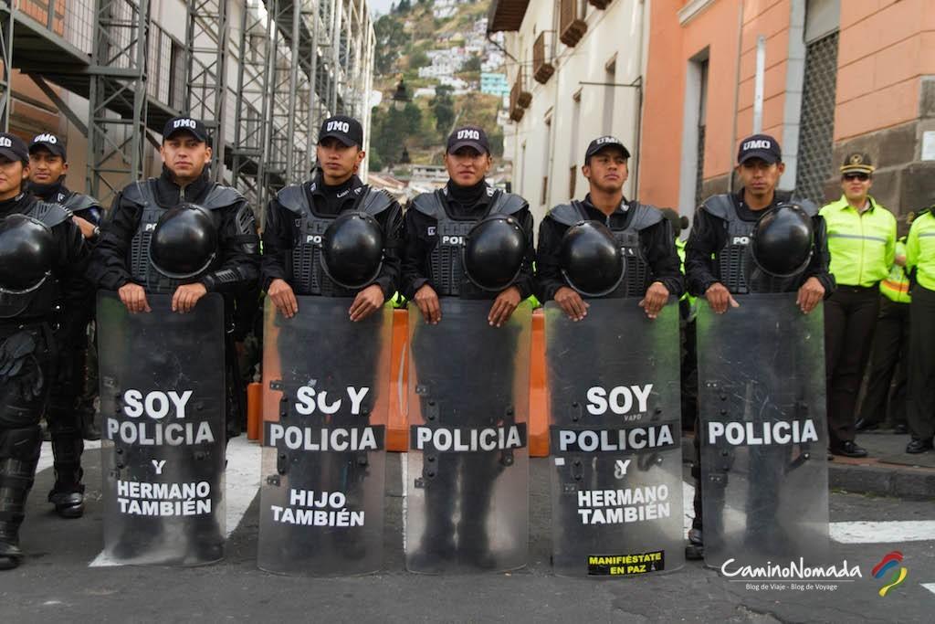 Quito-policia